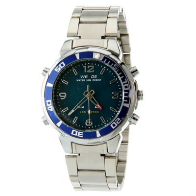 Relógio Masculino Weide AnaDigi Esporte WH-843 Azul