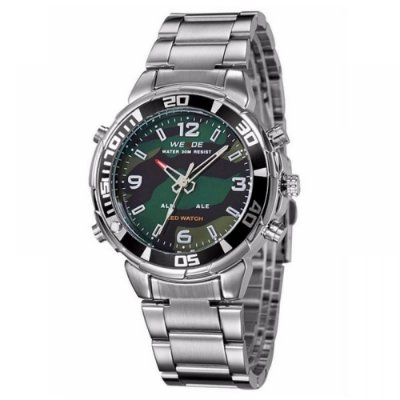 Relógio Masculino Weide AnaDigi Esporte WH-843 Camuflado