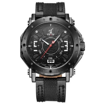 Relógio Masculino Weide Analógico UV-1601 Preto