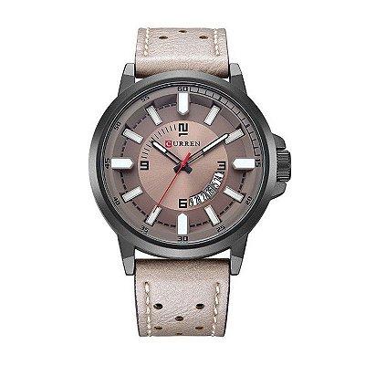 Relógio Masculino Curren Analógico 8228 Preto e Cinza