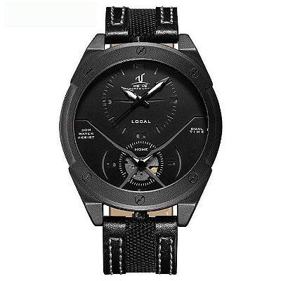 Relógio Masculino Weide Analógico UV-1703 Preto