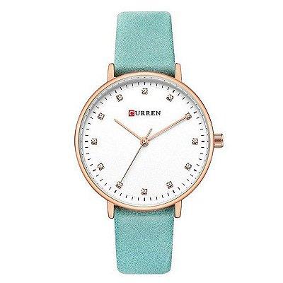 Relógio Feminino Curren Analógico C9023L - Azul