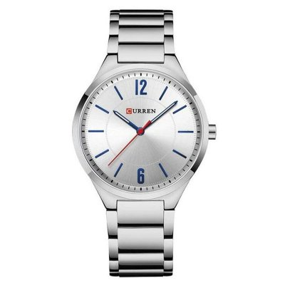 Relógio Masculino Curren Analógico 8280 - Prata