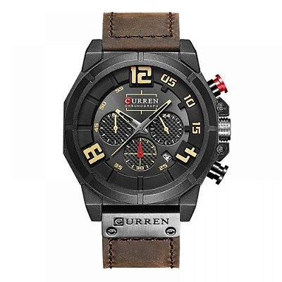 Relógio Masculino Curren Analógico 8287 - Preto