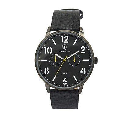 Relógio Masculino Tuguir Analógico 5038 Preto