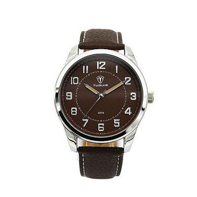 Relógio Masculino Tuguir Analógico 5031 Marrom