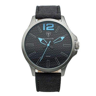 Relógio Masculino Tuguir Analógico 5446G Cinza
