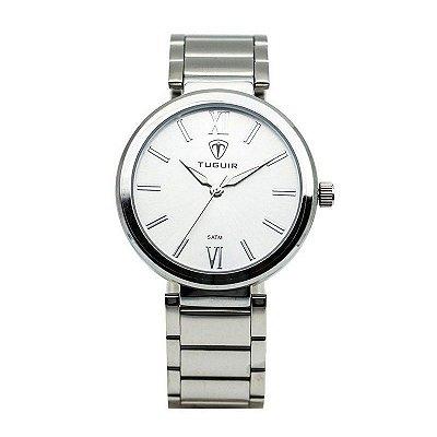 Relógio Feminino Tuguir Analógico 6069G Prata
