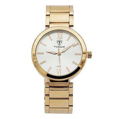 Relógio Feminino Tuguir Analógico 6069G Rose