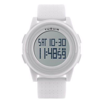 Relógio Feminino Tuguir Digital 1206 - Branco