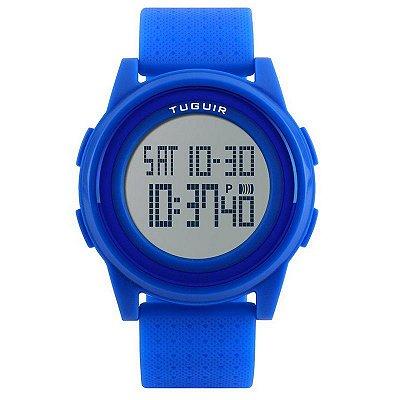 Relógio Masculino Tuguir Digital 1206 - Azul