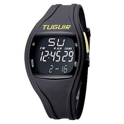Relógio Masculino Tuguir Digital TG1801 - Preto e Verde