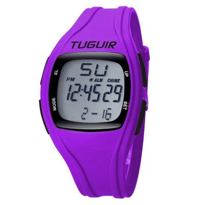 Relógio Feminino Tuguir Digital TG1801 - Roxo