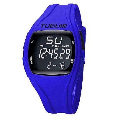 Relógio Masculino Tuguir Digital TG1801 - Azul e Preto