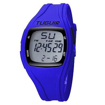 Relógio Masculino Tuguir Digital TG1801 - Azul