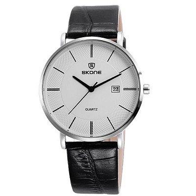 Relógio Masculino Skone Analógico 9307BG Prata