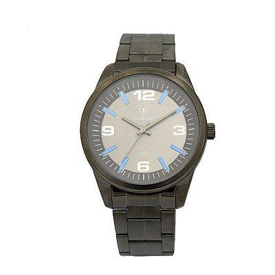 Relógio Masculino Tuguir Analógico 5037 Cinza