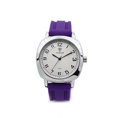 Relógio Feminino Tuguir Analógico 5015 Roxo