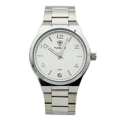Relógio Unissex Tuguir Analógico 5440G Prata