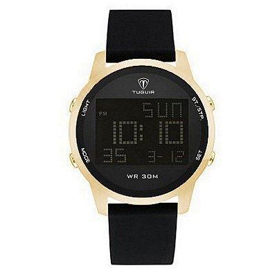 Relógio Masculino Tuguir Digital TG7003 Dourado