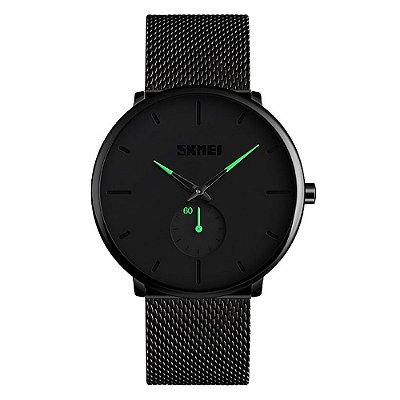 Relógio Unissex Skmei Analógico 9185 - Preto e Verde