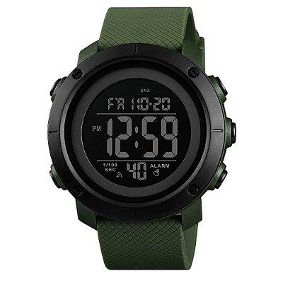 Relógio Masculino Skmei Digital 1434 - Verde e Preto