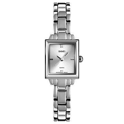 Relógio Feminino Skmei Analógico 1407 - Prata