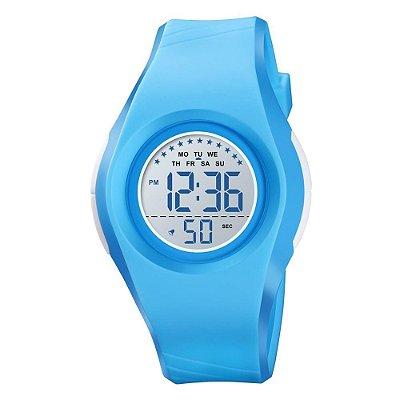 Relógio Infantil Menino Skmei Digital 1556 - Azul