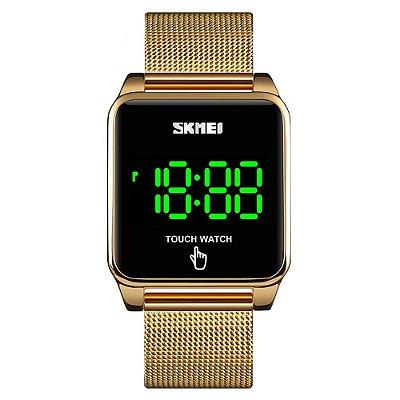 Relógio Unissex Skmei Digital 1532 - Dourado