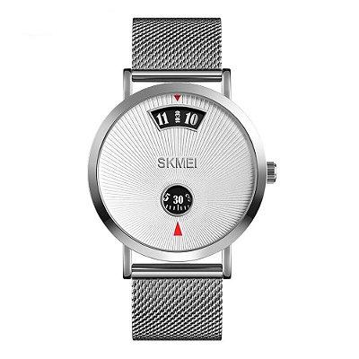 Relógio Unissex Skmei Analógico 1489 - Prata