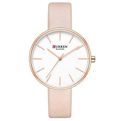 Relógio Feminino Curren Analógico C9042L - Rosa