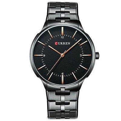 Relógio Masculino Curren Analógico 8321 - Preto