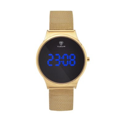 Relógio Feminino Tuguir Digital TG107 - Dourado