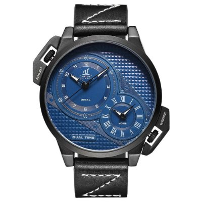 Relógio Masculino Weide Analógico UV-1706 - Preto e Azul