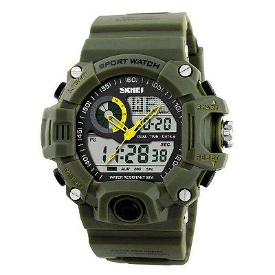 Relógio Masculino Skmei AnaDigi 1029 - Verde