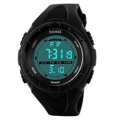 Relógio Masculino Skmei Digital 1074 Preto