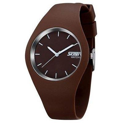 Relógio Masculino Skmei Analógico 9068 Marrom