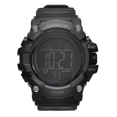 Relógio Masculino Tuguir 10ATM Digital TG109 - Preto