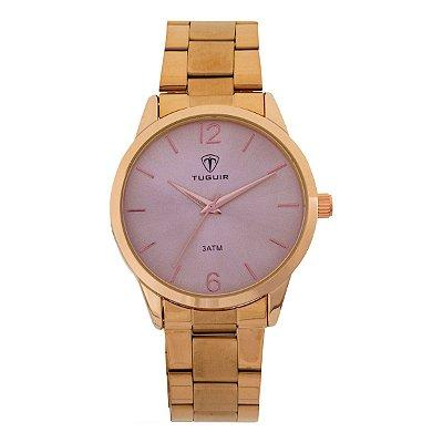 Relógio Feminino Tuguir Analógico TG112 - Rosê