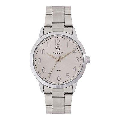 Relógio Feminino Tuguir Analógico TG116 - Prata