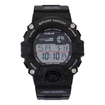 Relógio Masculino Tuguir Digital TG130 - Preto