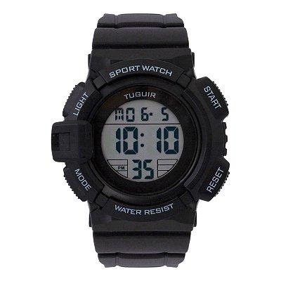 Relógio Masculino Tuguir Digital TG129 - Preto