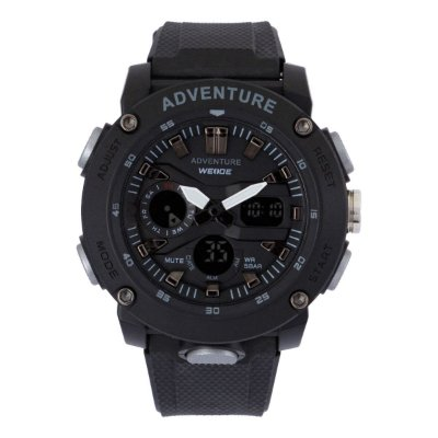 Relógio Masculino Weide AnaDigi WA3J9002 - Preto e Cinza