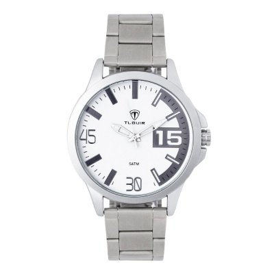 Relógio Masculino Tuguir Analógico TG100 - Prata