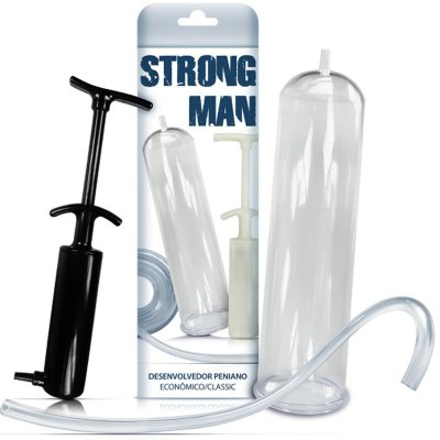 Desenvolvedor Peniano Manual Strong Man - 3581