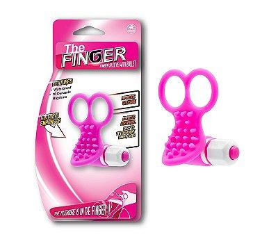 Massageador para Clitóris em Silicone The Finger - NAN051
