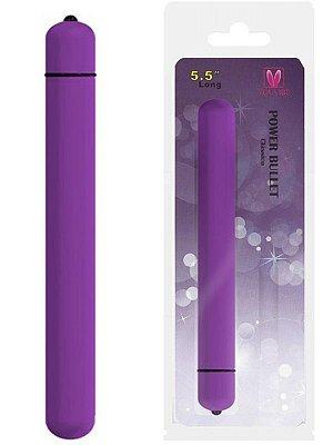 Cápsula Vibratória Power Bullet Clássico You Vibe 14 cm Várias Cores - MV009