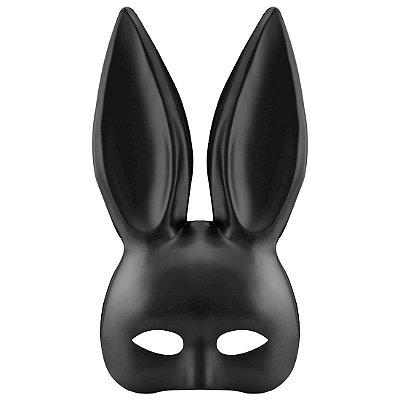 Máscara com Orelhas de Coelho para Fantasia - SM007