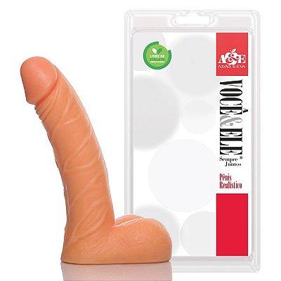 Pênis Small Dong com Escroto 13 x 3 cm Pele - PR107