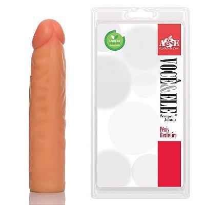 Pênis Tinny 16,5 x 3,5 cm Pele - PR108